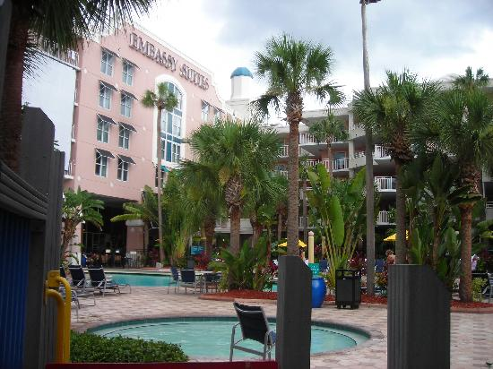 View of Embassy Suites Lake Buena Vista from outside